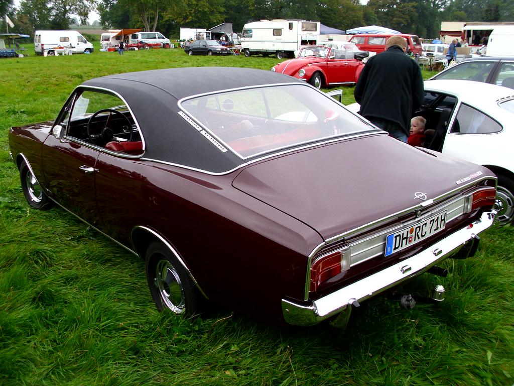 Opel Rekord C Coupé 1900 L 1971 2  Tostedt 2011  Hog
