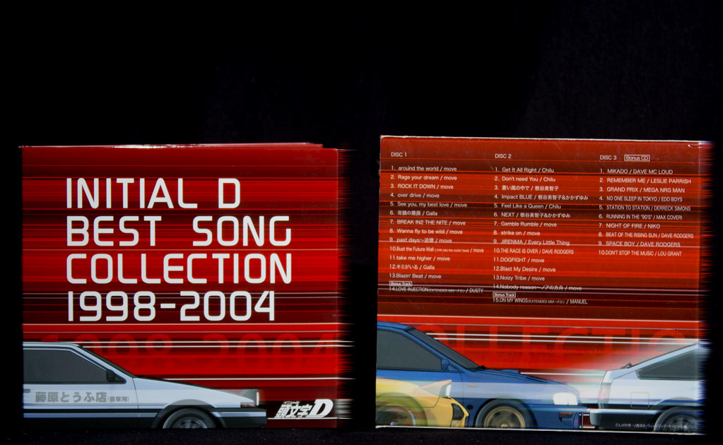 various artists initial d best song collection 19982004