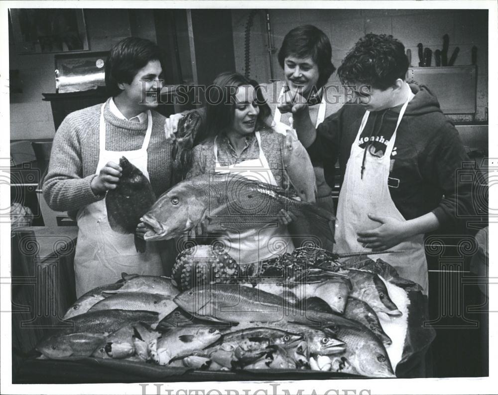 Ann Arbor: Monahan's Fish Market, Kerrytown, February, 198… | Flickr