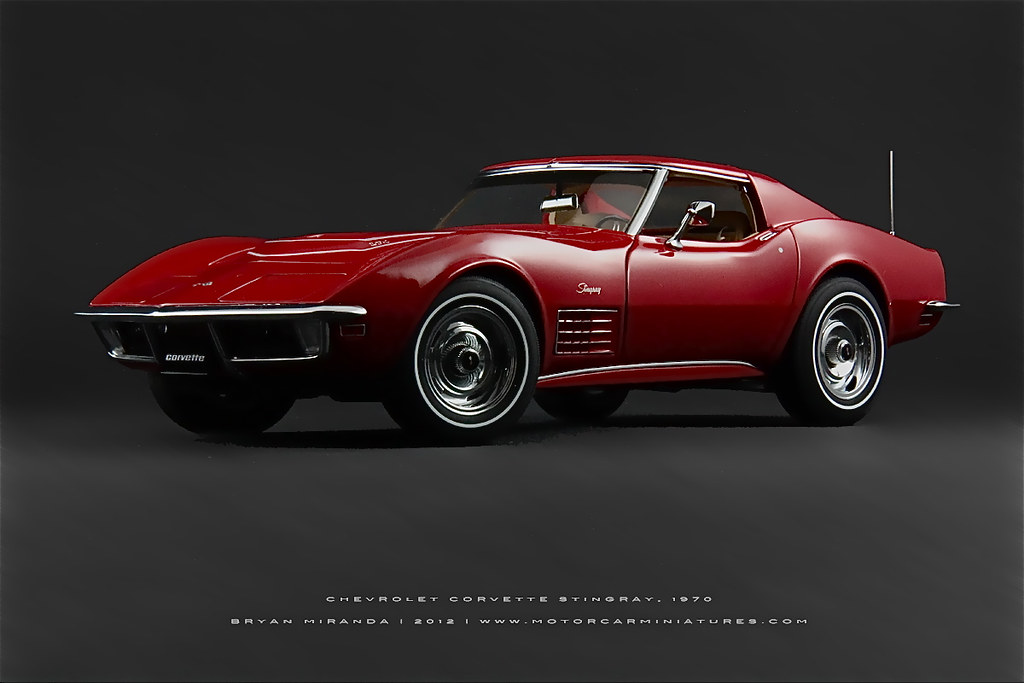 chevrolet 1970 corvette stingray in monza red autoart 1 18 flickr. Black Bedroom Furniture Sets. Home Design Ideas