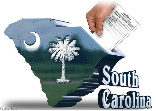 South Carolina Republican Primary | by DonkeyHotey