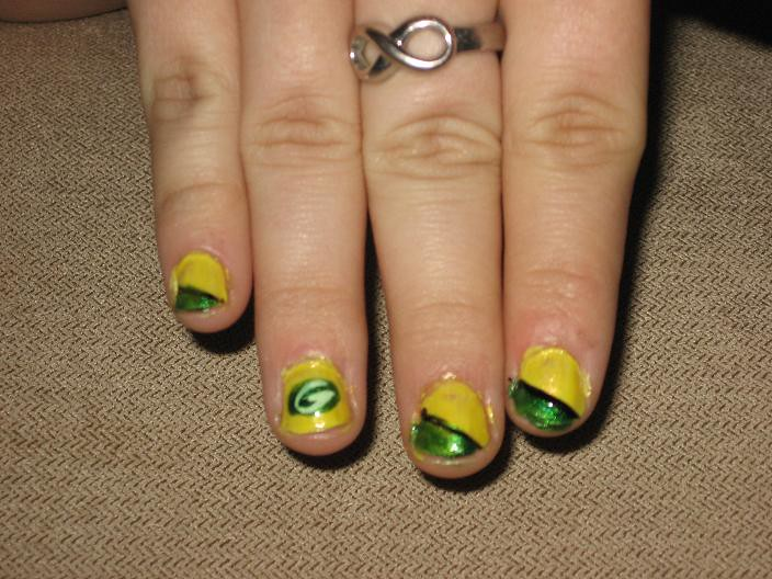 Green Bay Nail Designs