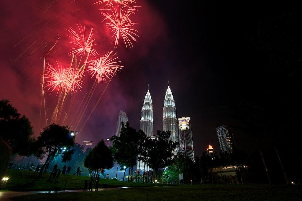 Image result for klcc fireworks