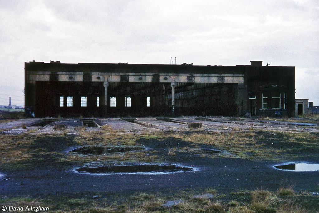 Rose Grove Motive Power Depot The Derelict Former
