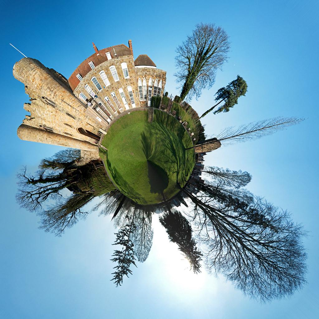 05 52 Tonbridge Castle Polar Panorama Explored Flickr