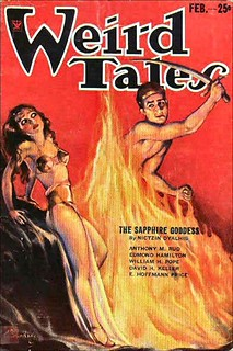 033a Weird Tales Feb-1934 Cover by Margaret Brundage - Includes Tarbis of the Lake by E. Hoffmann Price | by CthulhuWho1 (Will Hart)