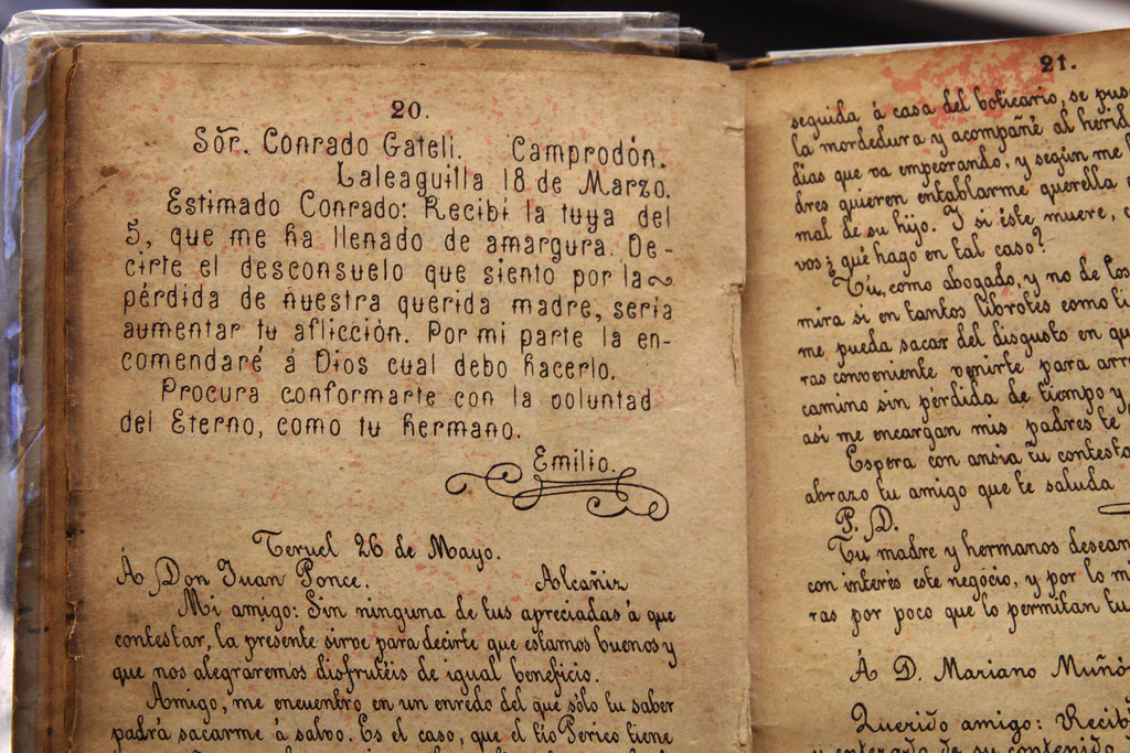 Spanish handwriting | Charming old Spanish books for learnin ...