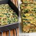 Savory Spinach and Mushroom Brownies