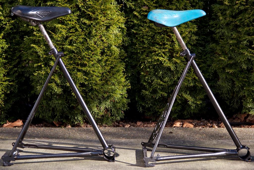 Bike Seat Bar Stools Bike Seat Bar Stools By Tom S Cargo
