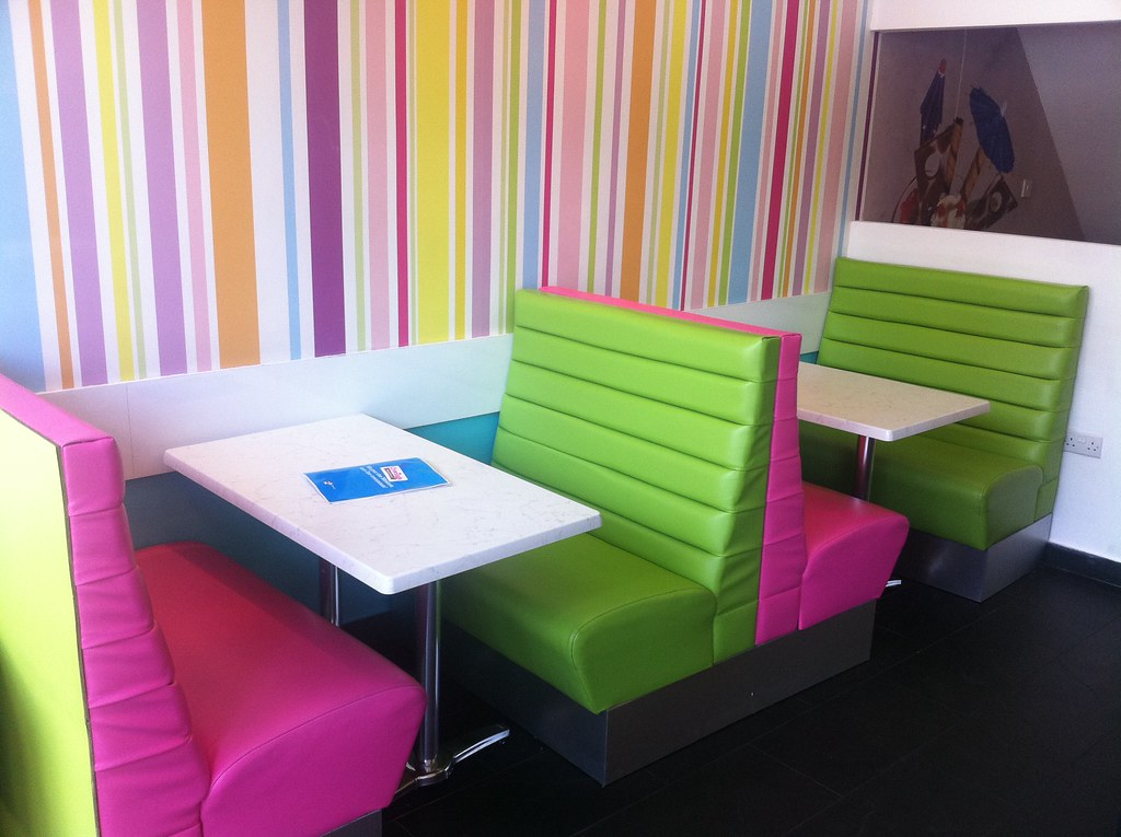 Funky bench seating our bench seating can be made to meas flickr - Made to measure bench seating ...