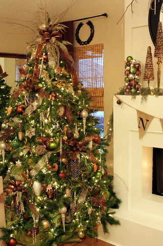 Img 4560 michelle edwards flickr for Elle decor christmas tree