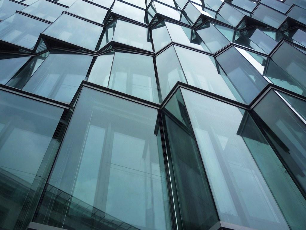 Glass Facade Miki216 Flickr