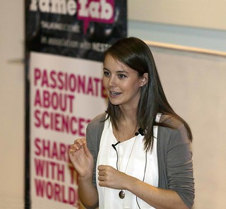 lucy thorne | by FameLab UK