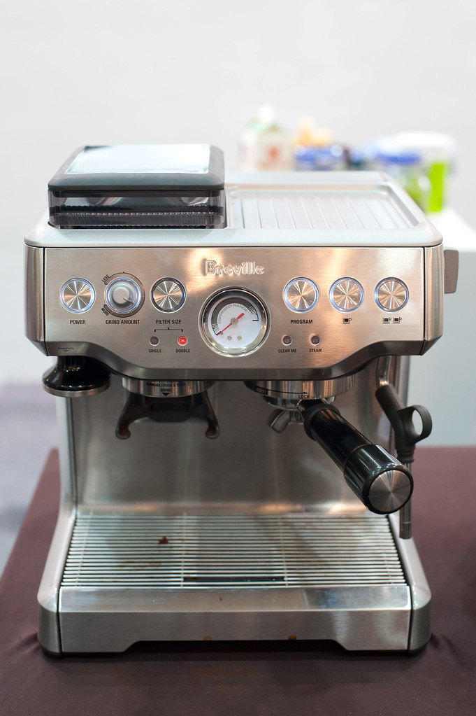Breville Espresso machine With built-in grinder. Extremely? Flickr