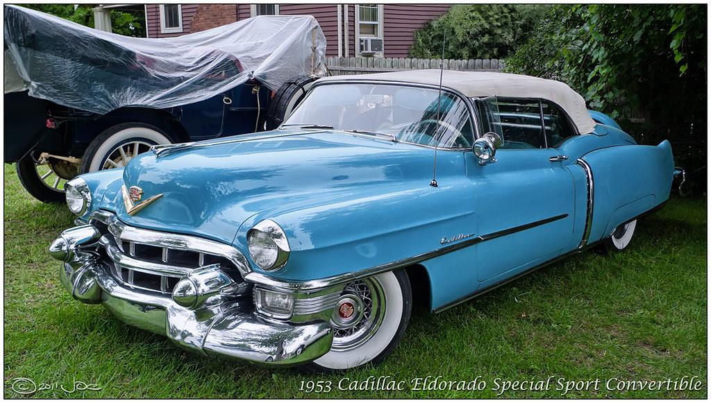 1953 Cadillac Eldorado Special Sport Convertible This Is