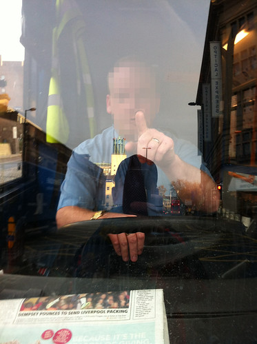 bus driver pixellated | by carltonreid