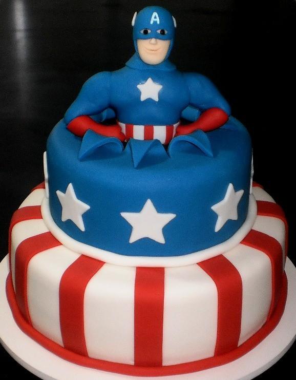 Marvel Superhero Birthday Cake Ideas