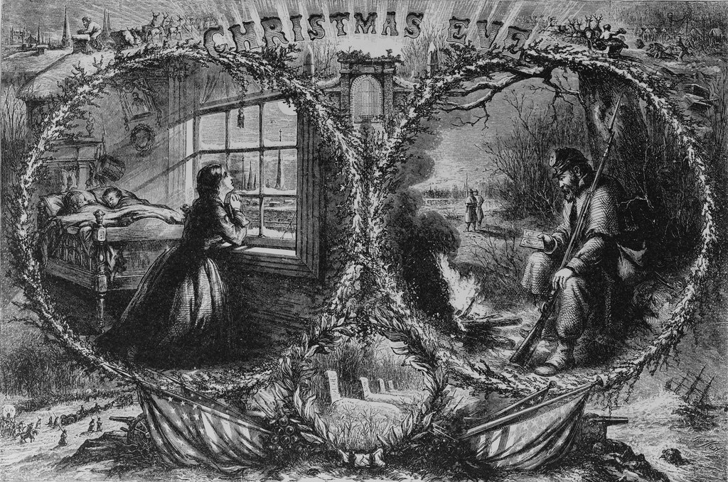 Civil War Christmas Eve Public Domain Library Of