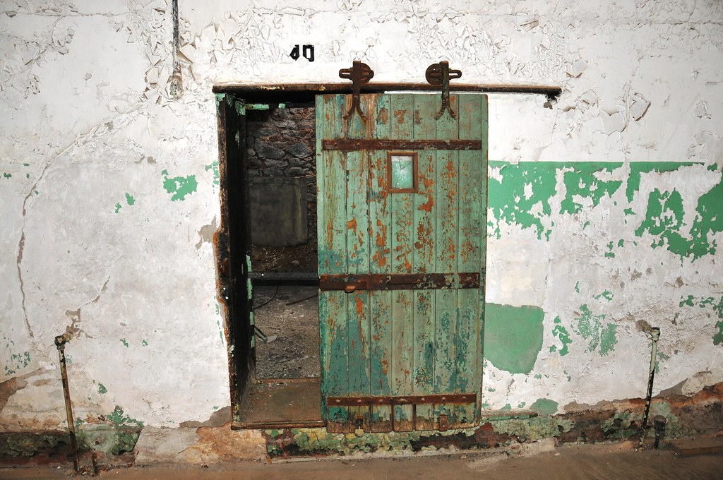 Door To Inmate Cell Eastern State Penitentiary William