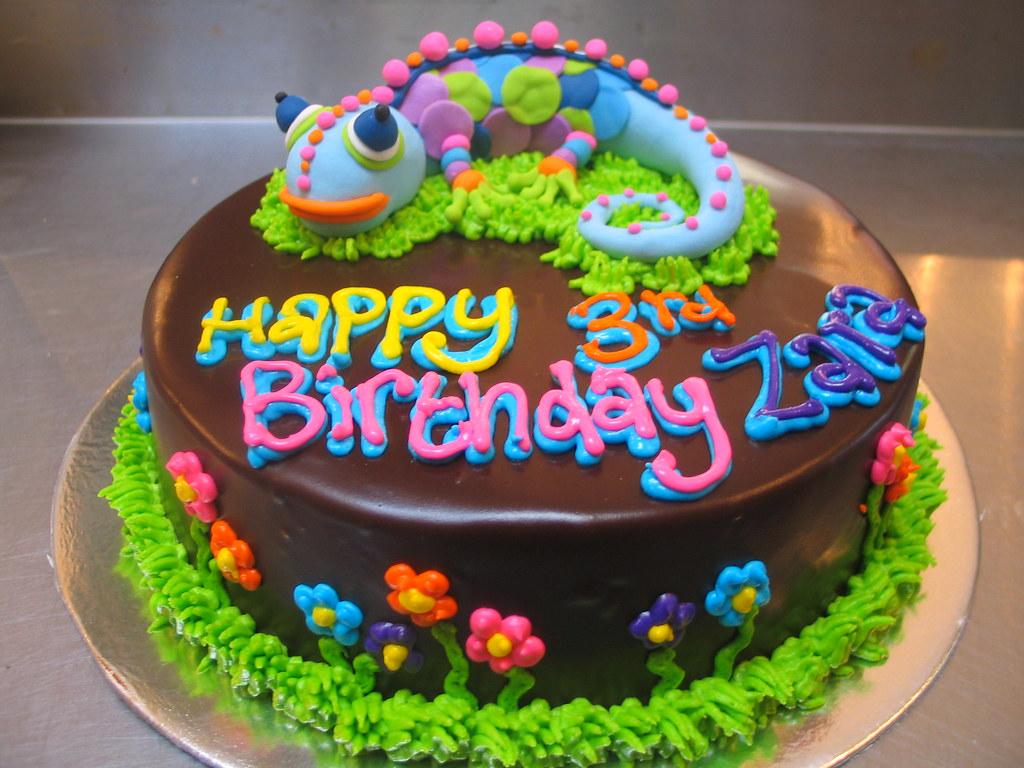 Reptile Cake