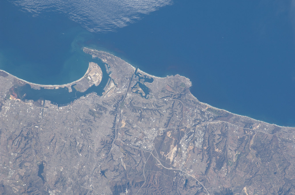 Nasa Space Pictures Of Earth San Diego, California ...