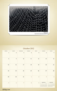 ADIDAP Calendar 2012 UK Retro October | by akhater