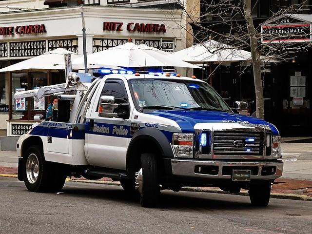 Boston Police Ford F450 Truck Boston Police Special