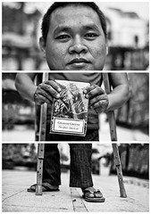 Triptychs of Strangers #29: The highly recommended Mekong Expert - Ho Chi Minh City
