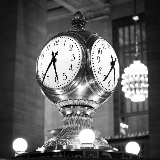 Grand Central Station Clock Black And White Grand central terminal    Grand Central Station Clock Black And White