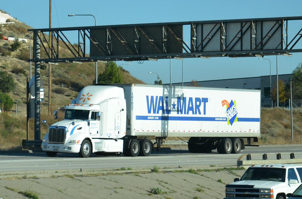 walmart sam 39 s club peterbilt big rig truck 18 wheeler flickr. Black Bedroom Furniture Sets. Home Design Ideas