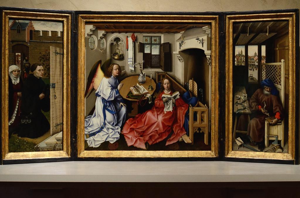Annunciation Triptych Annunciation Triptych Merode