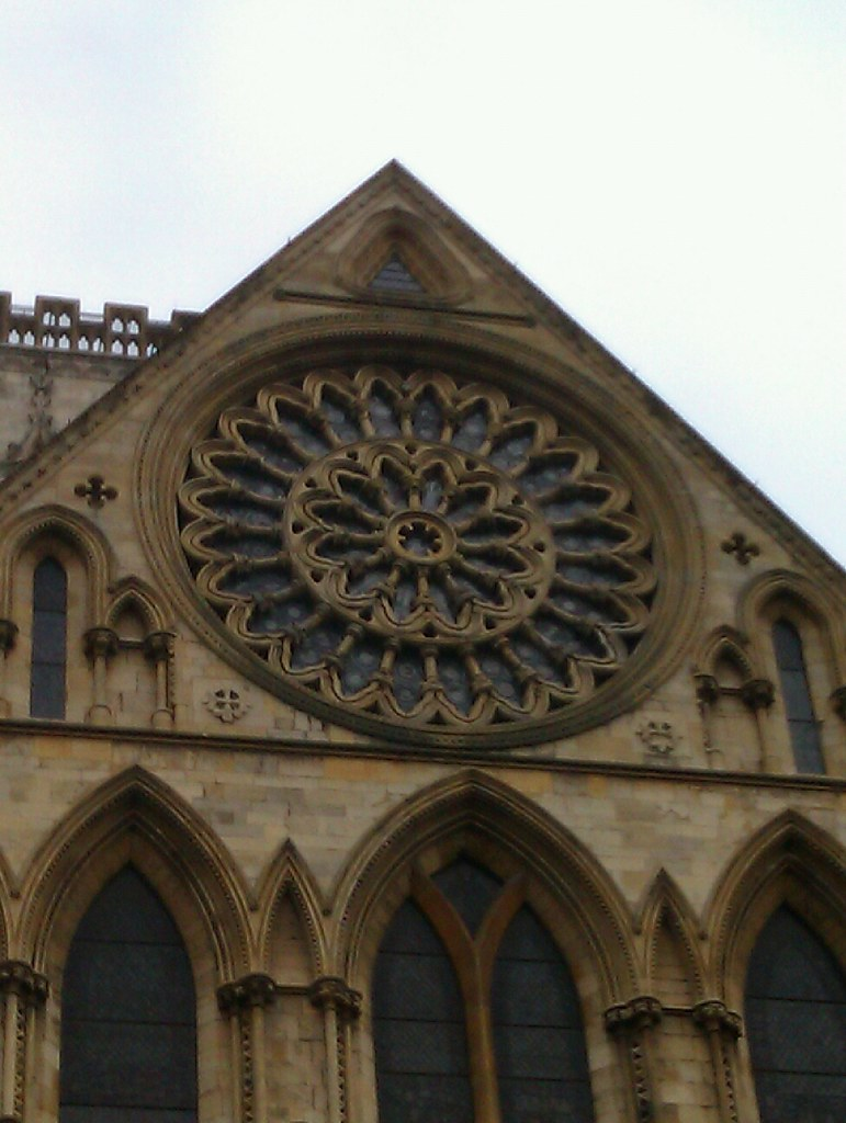 Rose window york minster deebee flickr for Rose window york minster