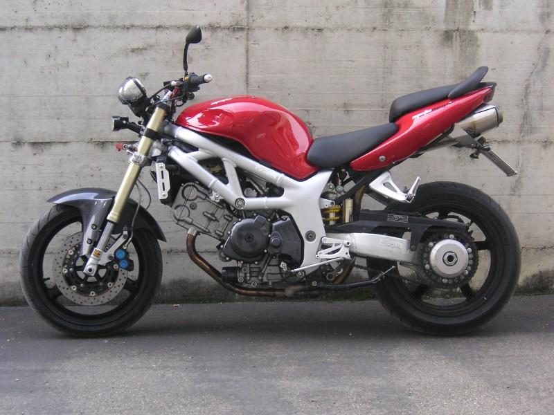 Suzuki Sv Naked 8