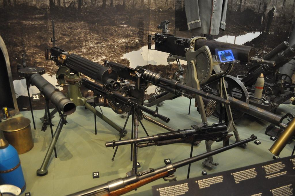 ww1 machine guns