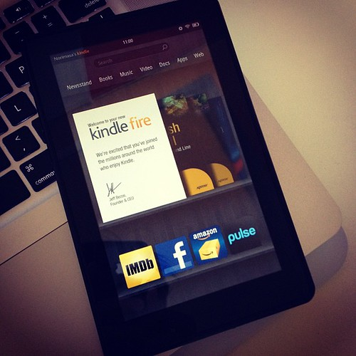 Kindle Fire | by nhayashida