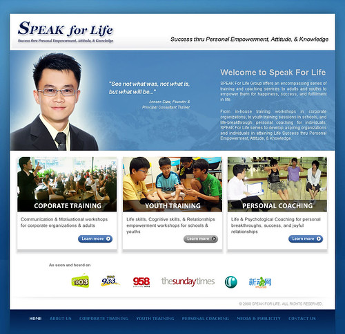 SPEAK For Life - Home Page