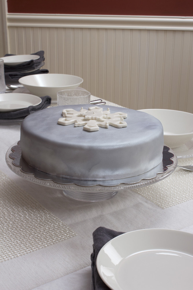 Cake Stand White And Gold