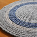 Nautical Brown and Blue Rug