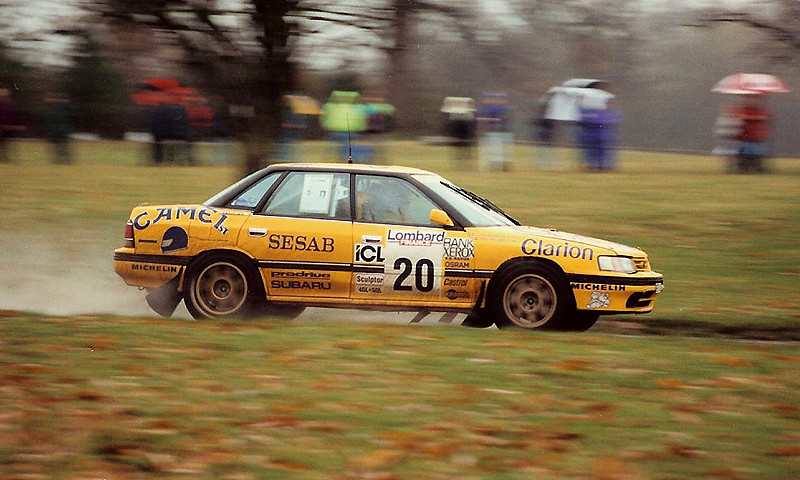 Subaru Rally Car >> Subaru Legacy - Per Eklund - RAC Rally - Weston Park 1992 ...