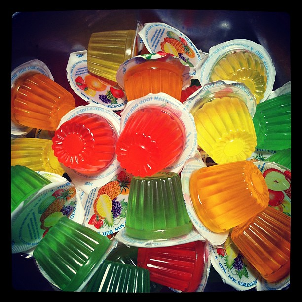 Fruit Jello Cups Chinese Fruit Jelly Cups