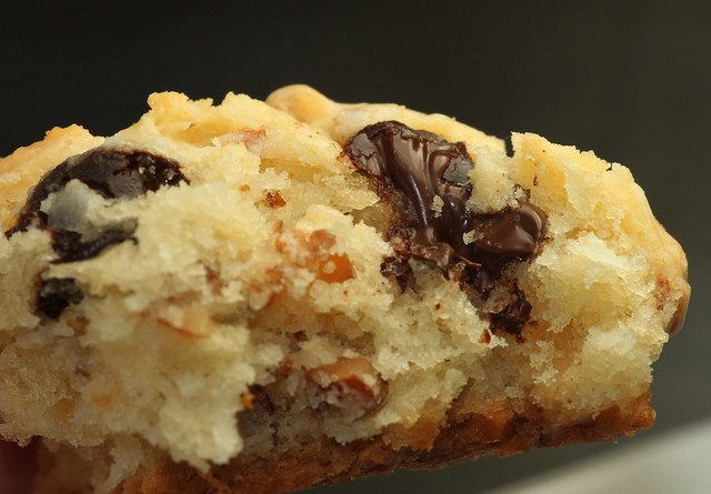 Coconut Scones with Almonds and Chocolate (drizzled with Coconut Glaze ...