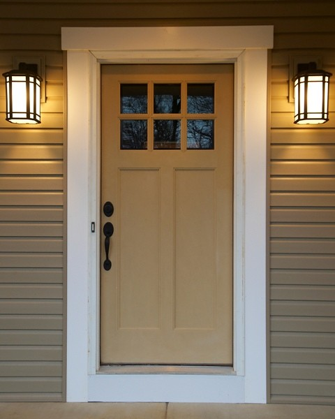 Craftsman Front Door Portage 3252 Wayne Homes Flickr