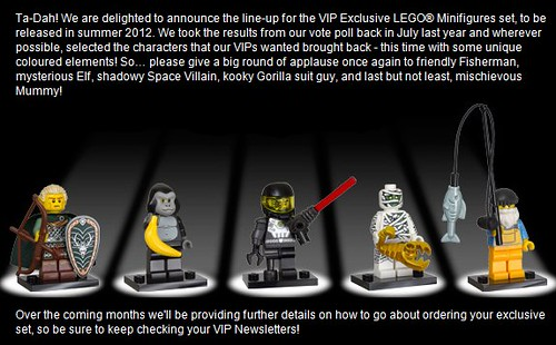 VIP exclusive minifigs | by hmillington