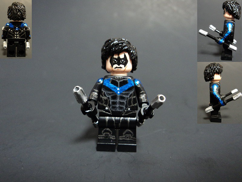 Nightwing | Nightwing as he appears in Batman: Arkham City ...