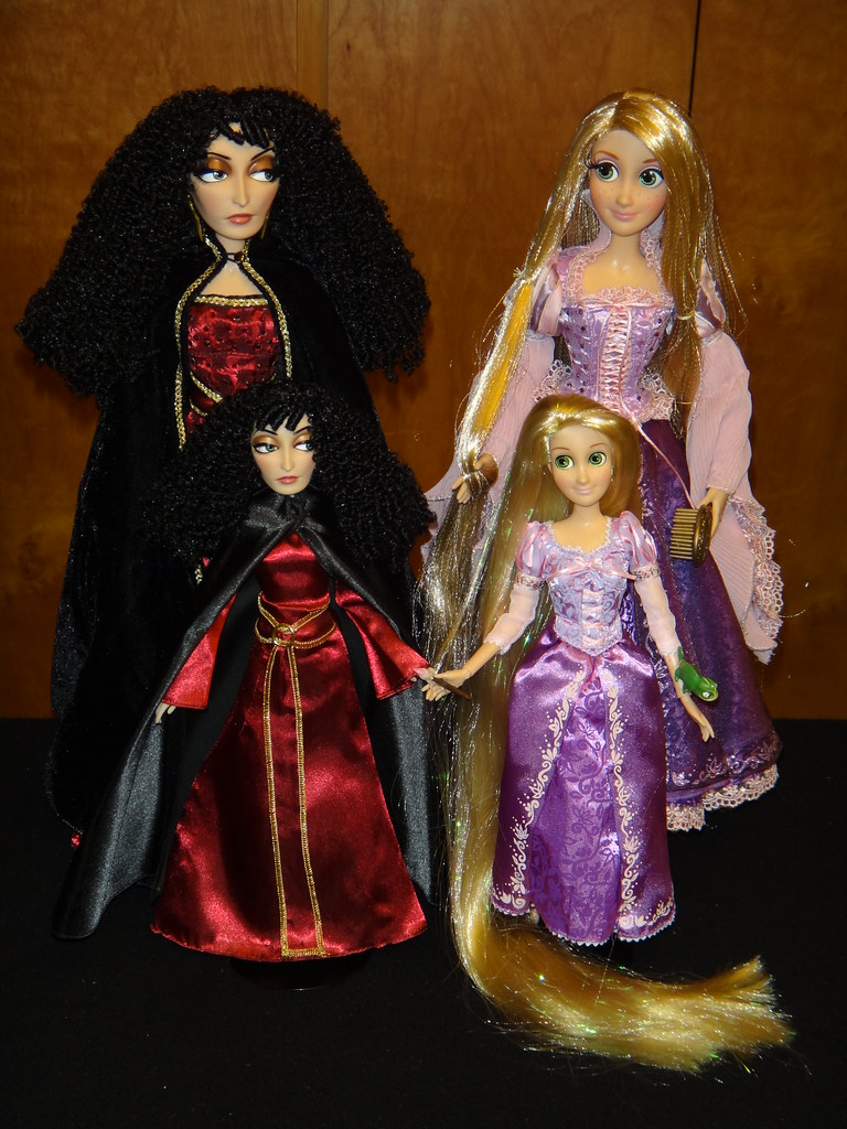 Mother Gothel And Rapunzel 17 And 12 Dolls Full Vie