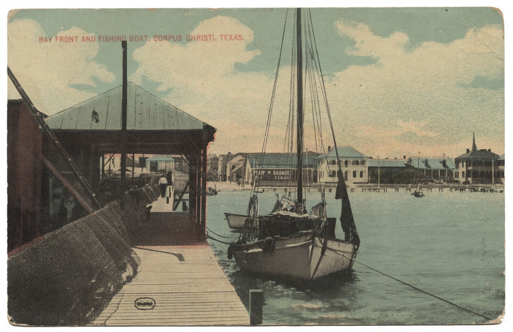 Bay Front And Fishing Boat Corpus Christi Texas Flickr