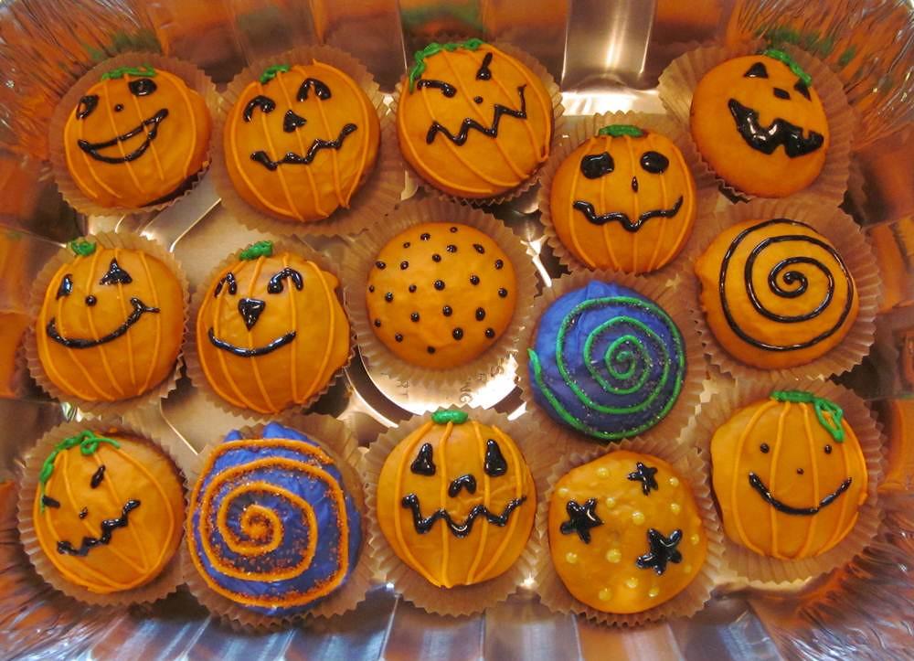 Halloween Cupcakes Pumpkin Cake Organic Pumpkin