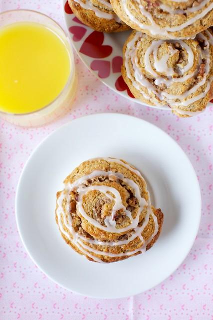 cinnamon roll scones | Flickr - Photo Sharing!