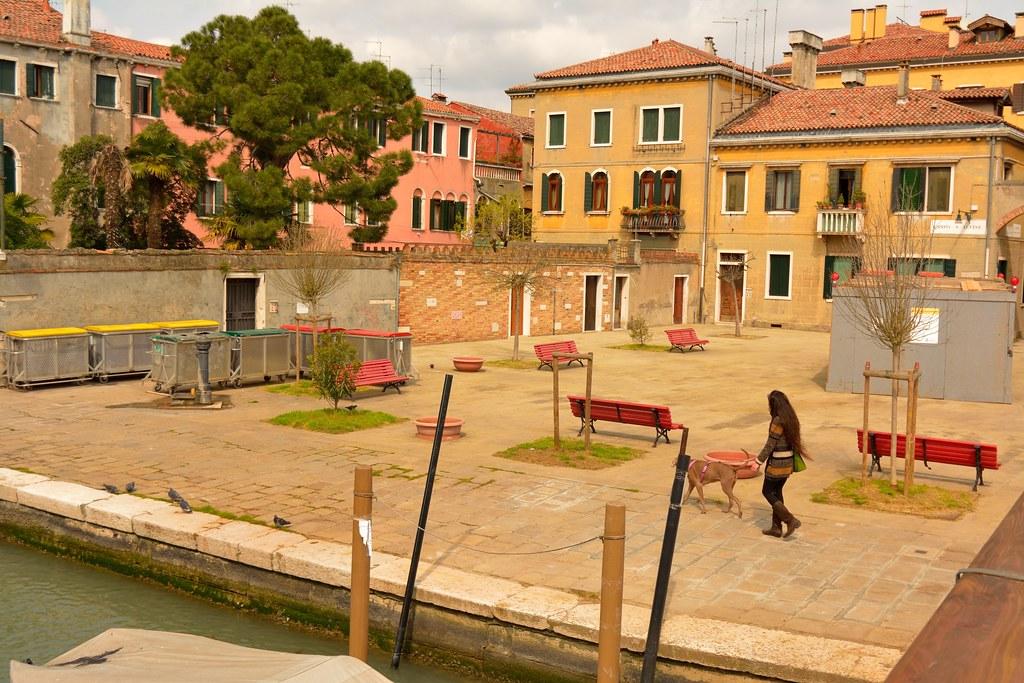 Francois Illas New Tradition: Venice : Campo Di Sant'Alvise - 2/3