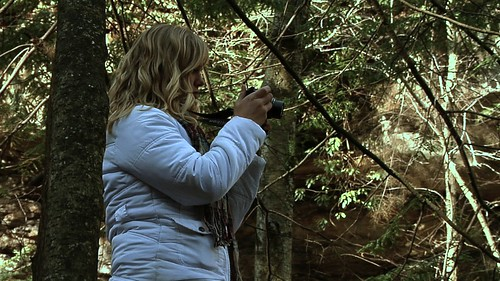 Ashley Funk Taking Photos at Ohiopyle State Park, Pennsylvania | by OurChildrensTrust